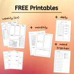 Free Printables Bullet Journal Spread Ideas