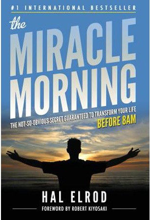 Best Self Help Books Miracle Morning by Hal Elrod