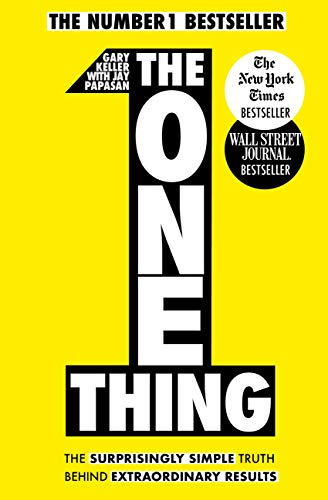 Best Self Help Books The One Thing by Gary Keller